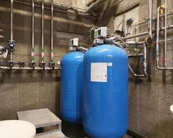 Process usine production eau adoucie 25 m3/h