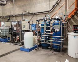 Production eau osmosée 5m3/h pour chaudière vapeur
